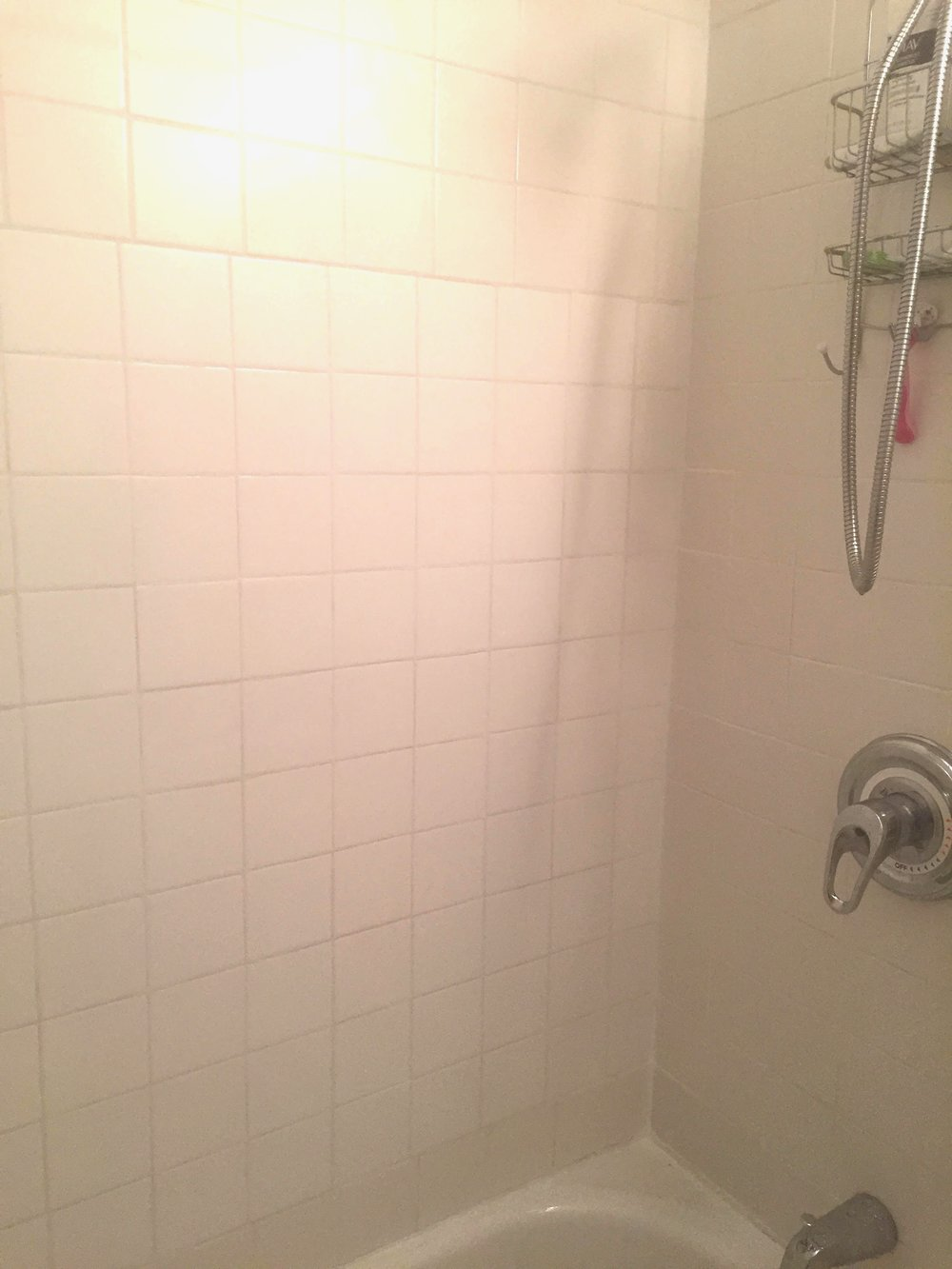 Anna Osgoodby Life + Design :: Apartment DIY Project Bathroom Edition -- How to Re-Grout and Re-Caulk Your Shower for Under $30