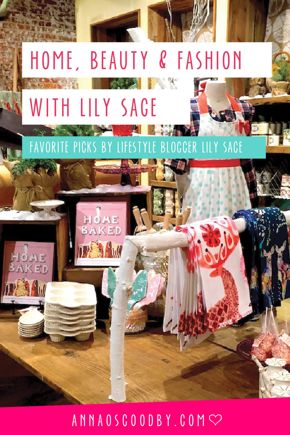 Anna Osgoodby Life + Design :: Home, Beauty & Fashion with NYC Lifestyle Blogger Lily Sage