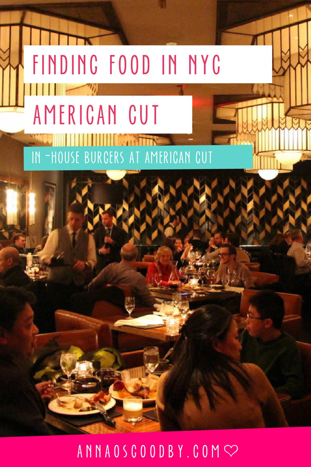 Anna Osgoodby Life + Design :: Finding Food in NYC with Chris Sandstrom -- American Cut In-House Burgers