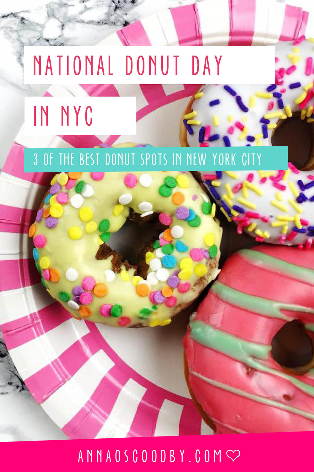 Anna Osgoodby Life + Design :: Celebrate National Donut Day in NYC -- 3 of the best spots for donuts in the city