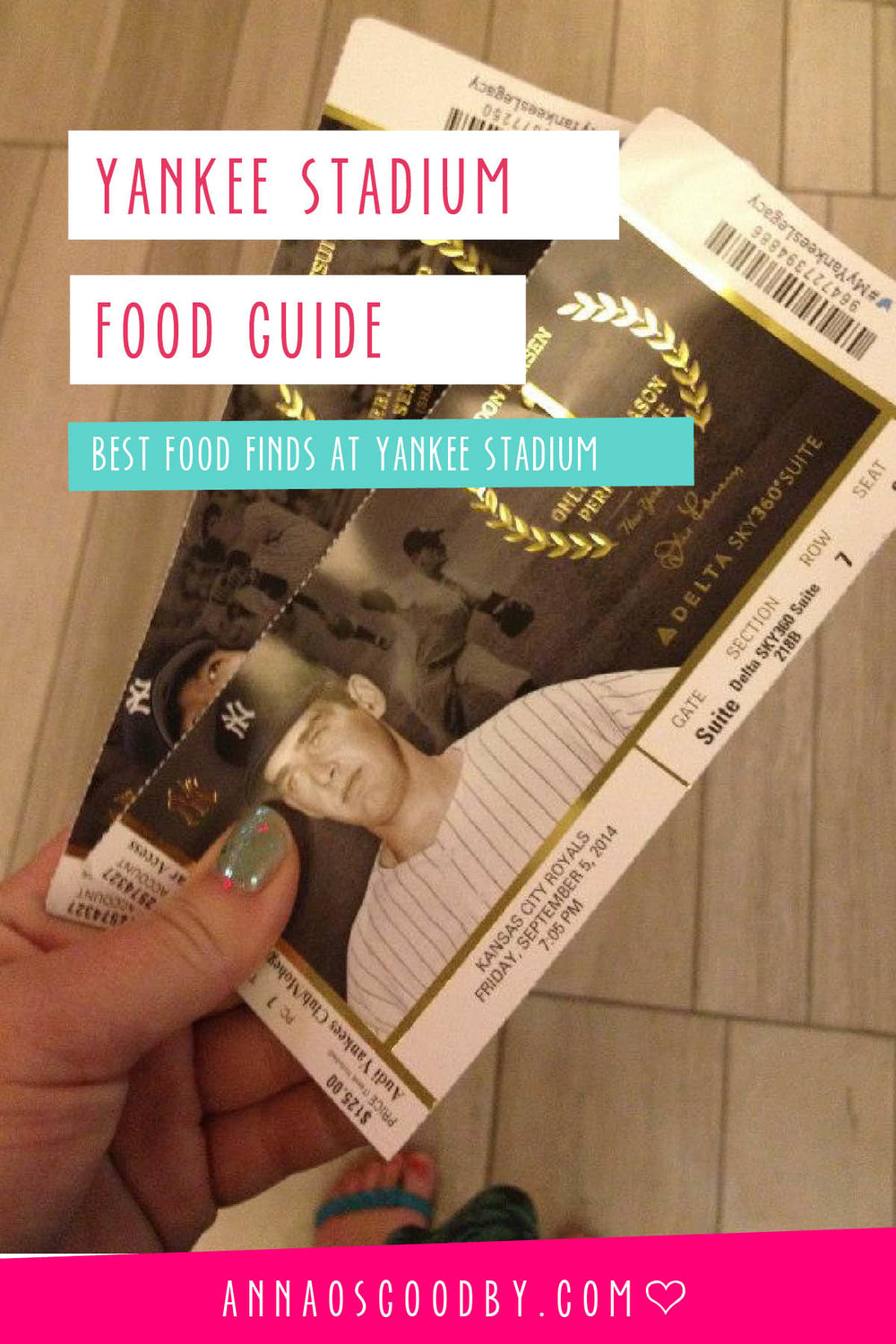 Anna Osgoodby Life + Design :: Yankee Stadium Food Guide