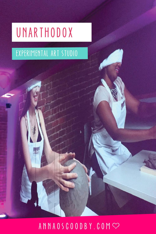 Anna Osgoodby Life + Design :: Introducing Experimental Art Studio Unarthodox