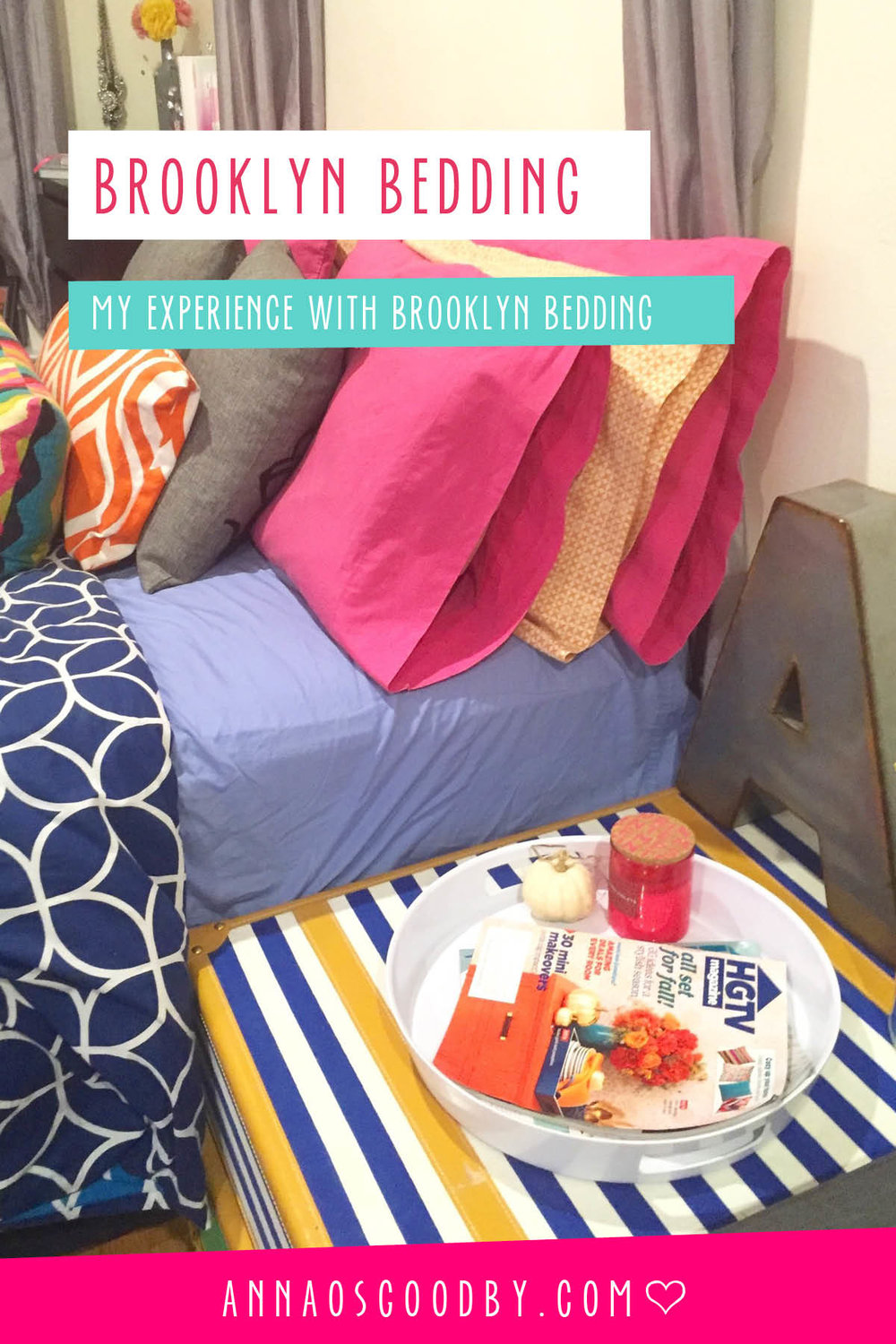 Anna Osgoodby Life + Design :: Snoozing with Brooklyn Bedding
