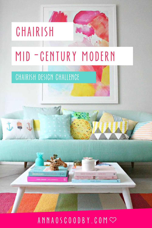 Anna Osgoodby Life + Design :: Adding Mid-Century Modern Flair