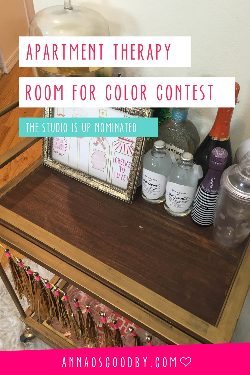 Anna Osgoodby Life + Design :: The Studio is Nominated for Apartment Therapy's Room for Color Contest