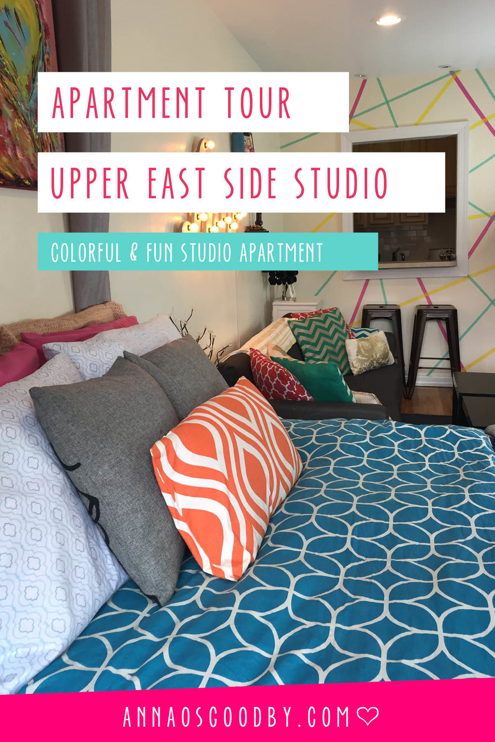 Anna Osgoodby Life + Design :: Colorful Upper East Side Apartment Tour