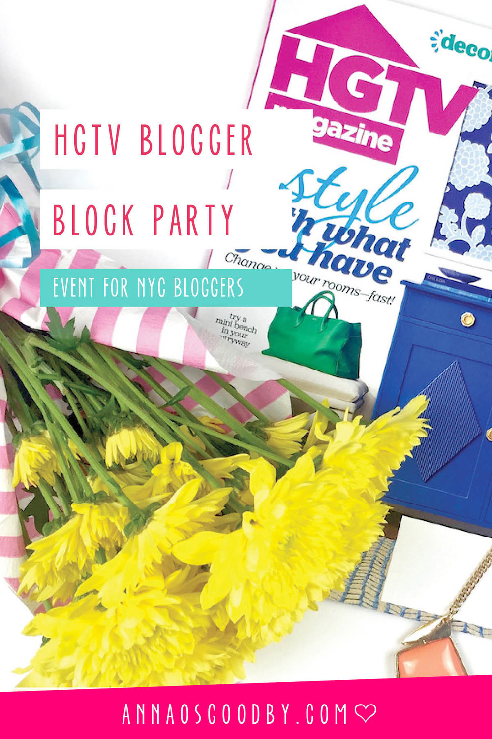 Anna Osgoodby Life + Design :: HGTV Blogger Block Party