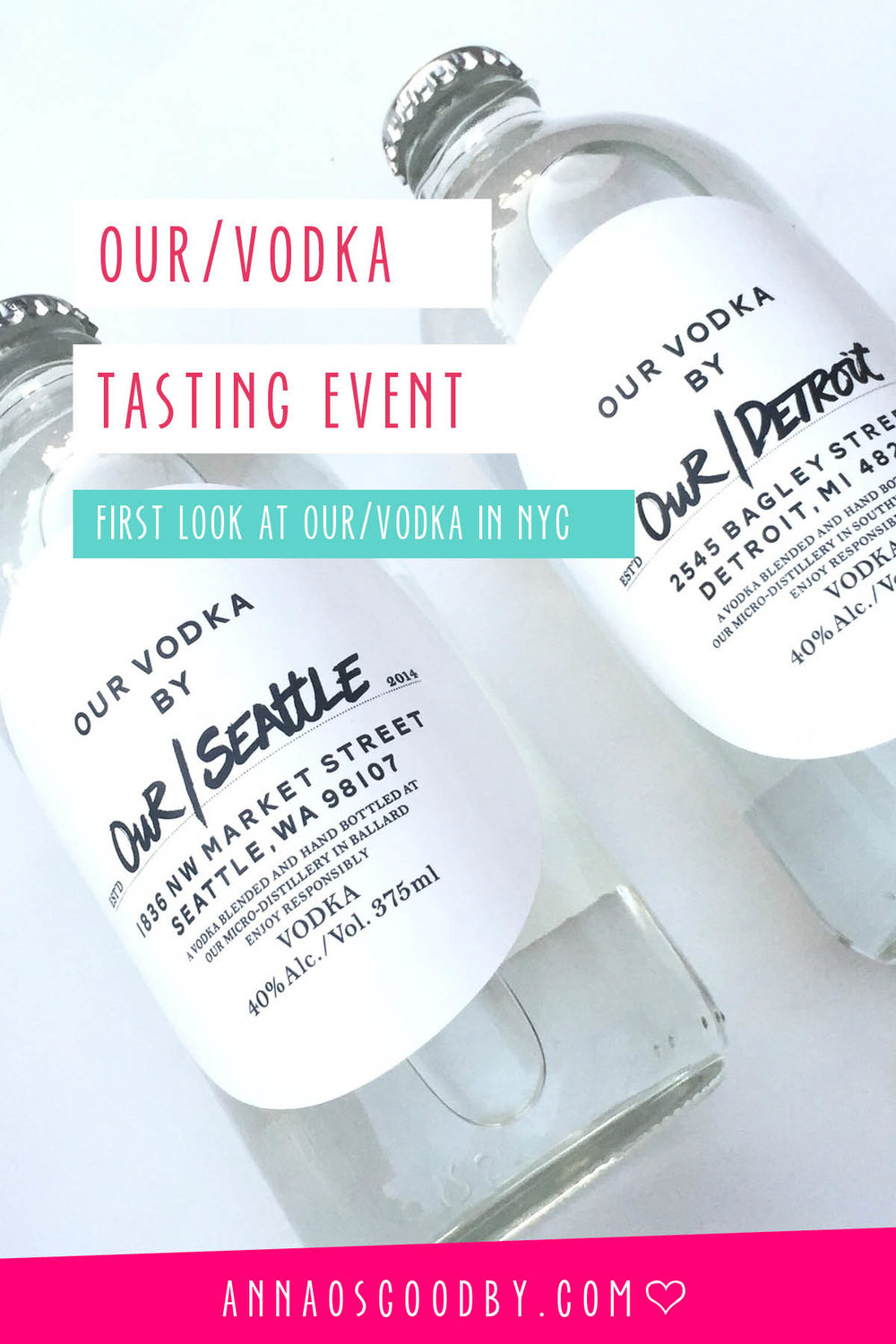 Anna Osgoodby Life + Design :: First Look at Our/Vodka NYC