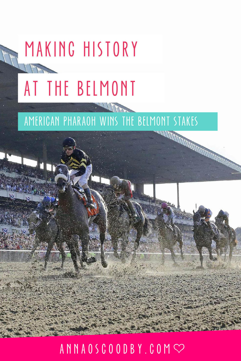 Anna Osgoodby Life + Design :: American Pharaoh Makes History at Belmont