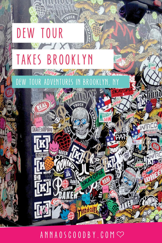 Anna Osgoodby Life + Design :: Dew Tour Takes NYC