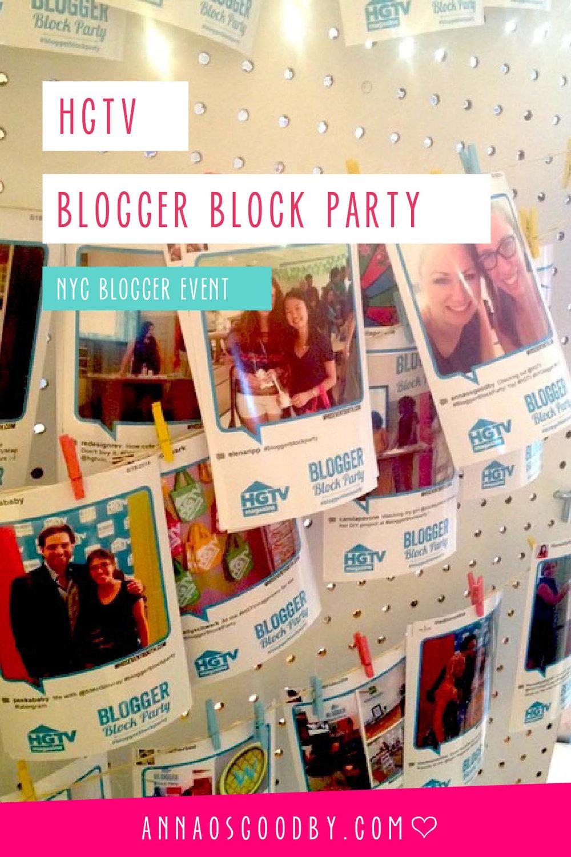 Anna Osgoodby Life + Design :: HGTV Blogger Block Party