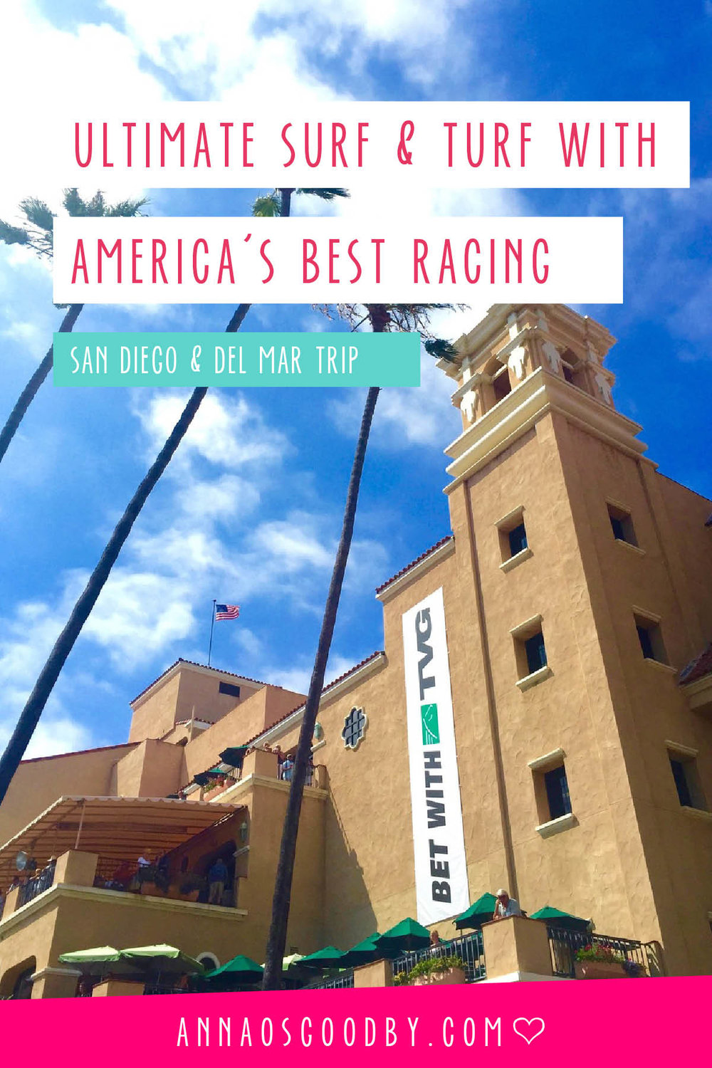 Anna Osgoodby NYC Living :: San Diego with America's Best Racing
