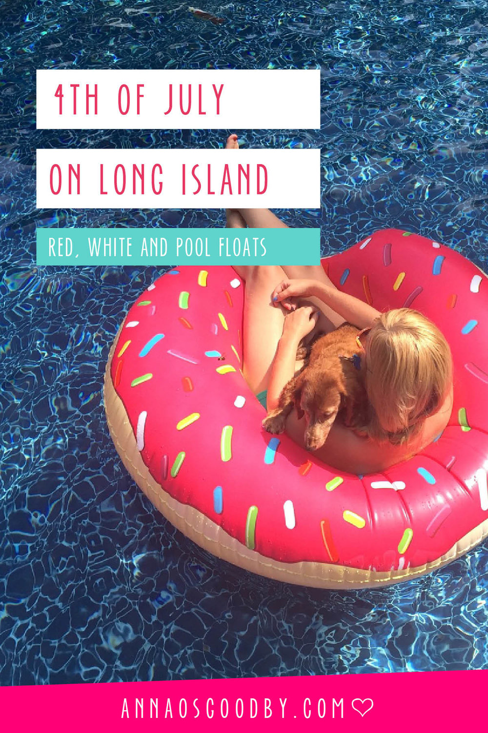 Anna Osgoodby Life + Design :: Red White & Pool Floaties