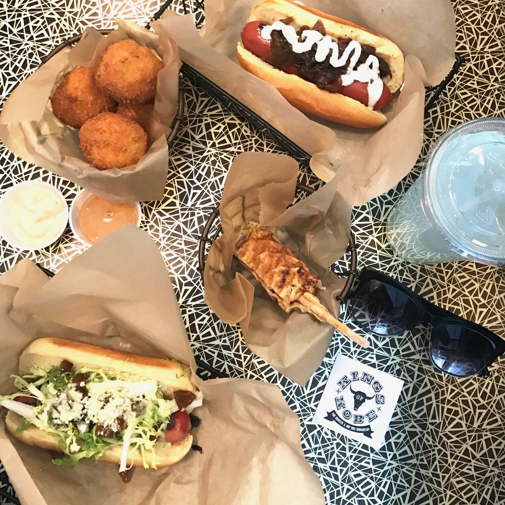Anna Osgoodby Life + Design : The Waffle Dog Takes NYC at Kings of Kobe
