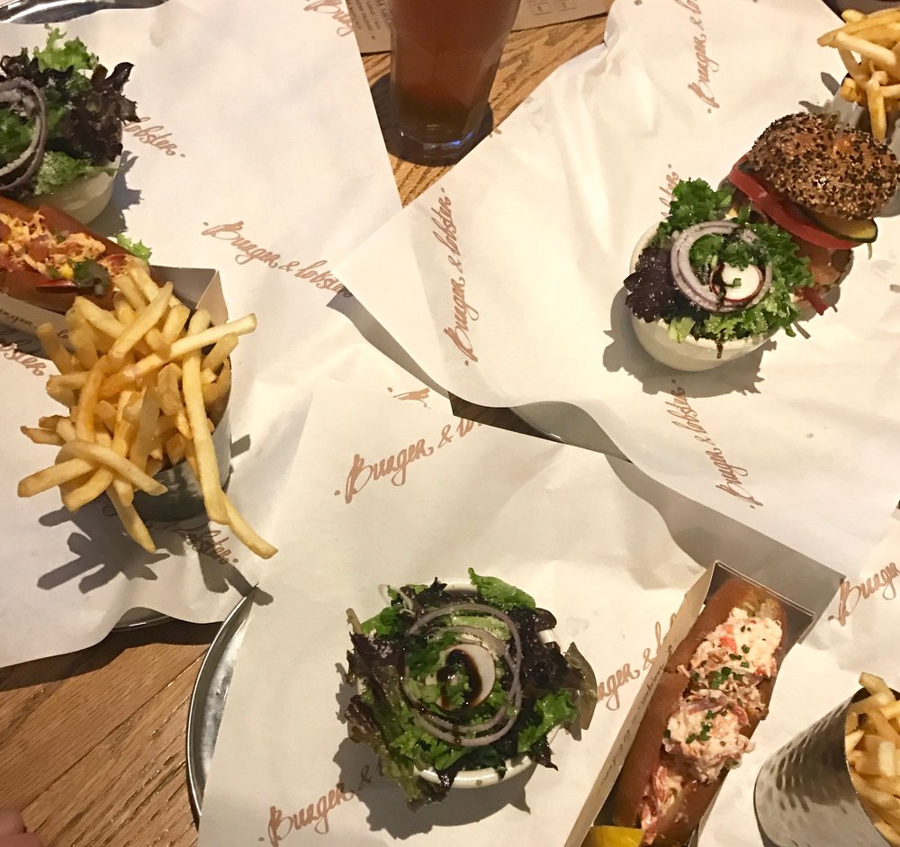 Anna Osgoodby Life + Design :: Burger & Lobster NYC Flatiron District