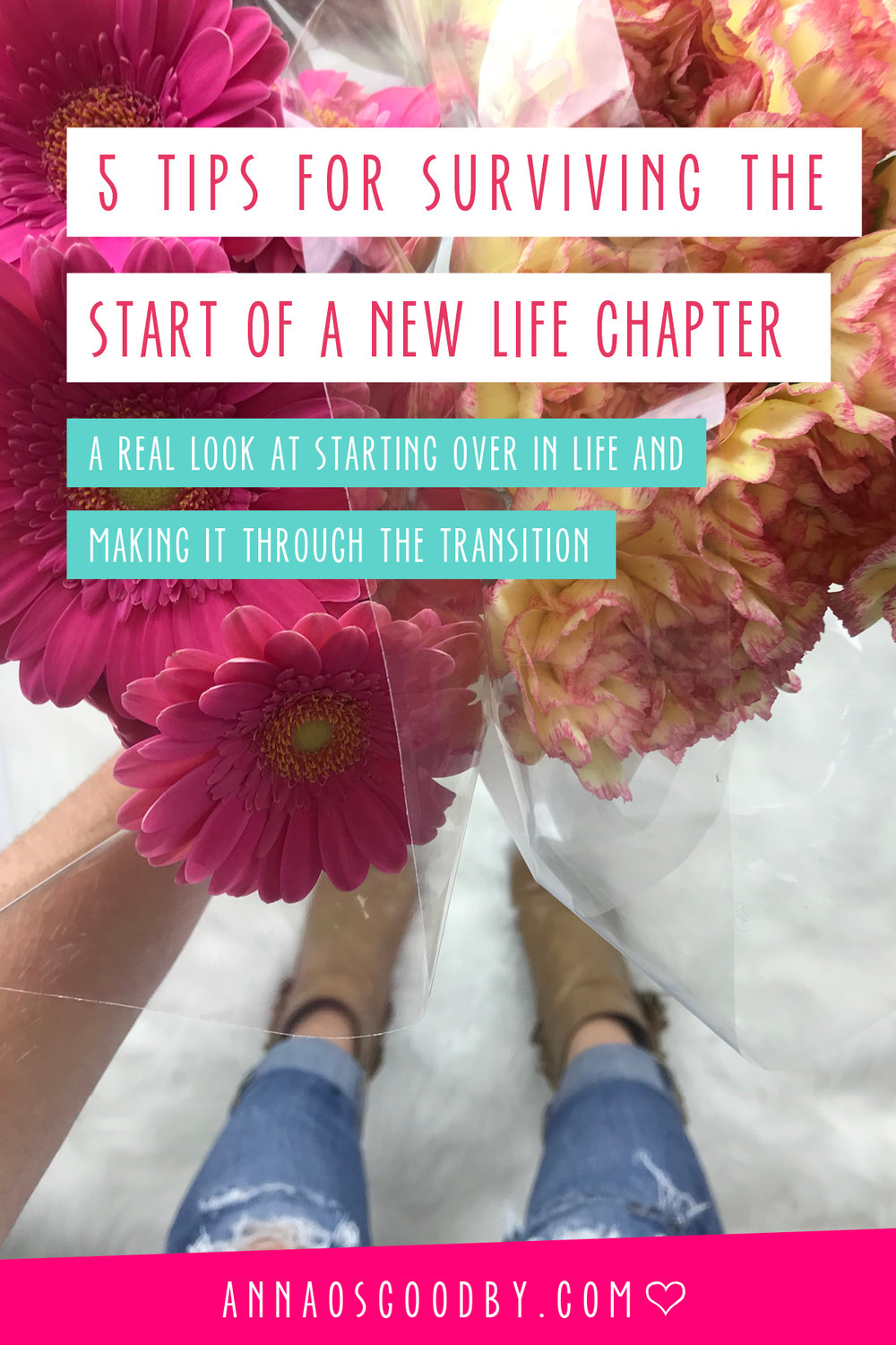 Anna Osgoodby Life + Design :: 5 Tips for Surviving the Start of a New Life Chapter