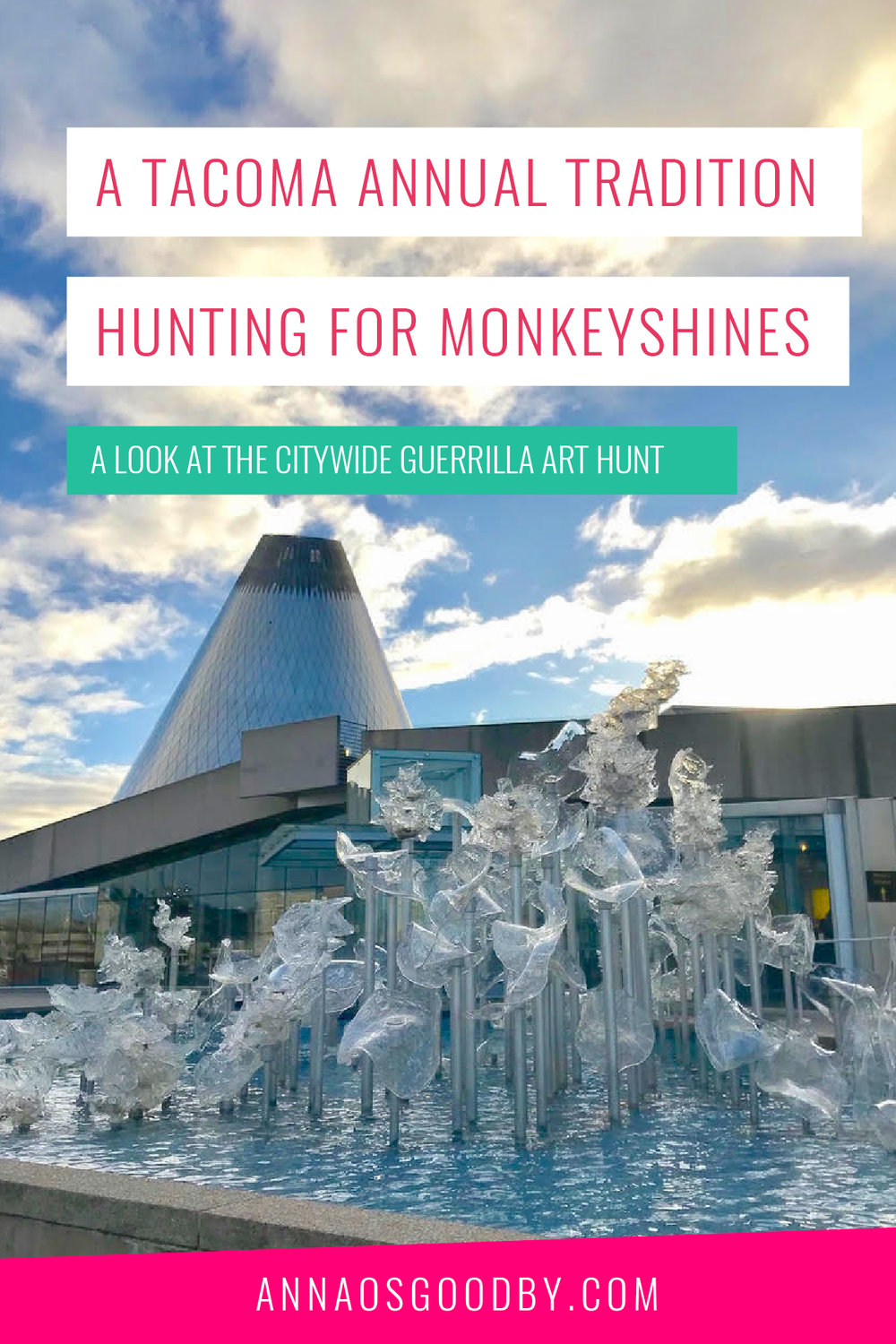 Anna Osgoodby Life + Biz: A Tacoma Annual Tradition Hunting for Monkeyshines: A Look at the Citywide Guerrilla Art Hunt