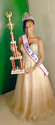 Miss Teen Buffalo Tyra Baxtron