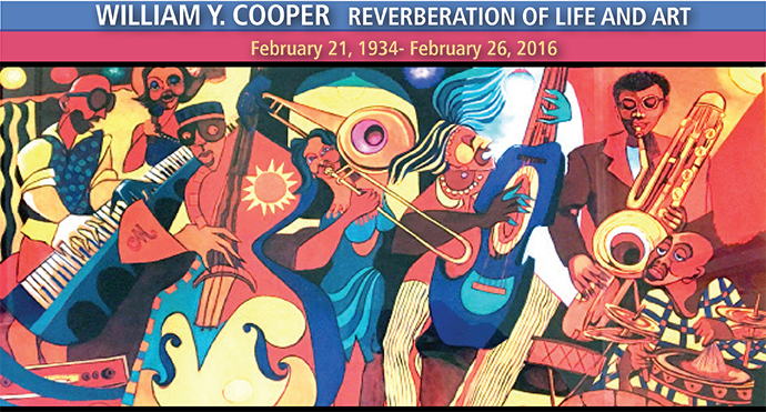 Artist Willam Y. Cooper's creation for the Colored Musician's Club Museum