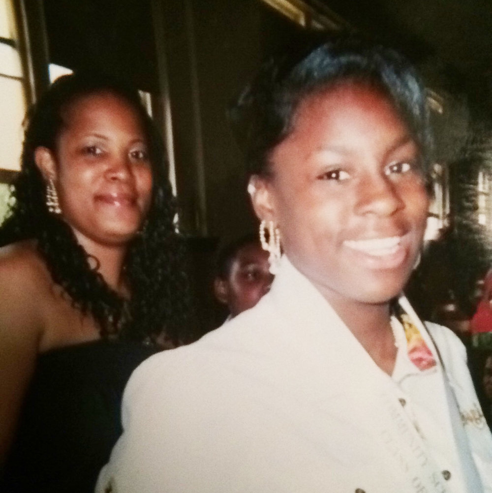 Marquita Nailor ( left) and belated daughter Sh'Merea who inspired Merea Transportation