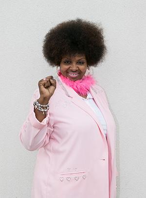 Gina Davis Founder Jes Breathe in Her power pose