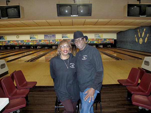 Mr. and Mrs. Dan Adams, Proprietors, KERNS Bowling