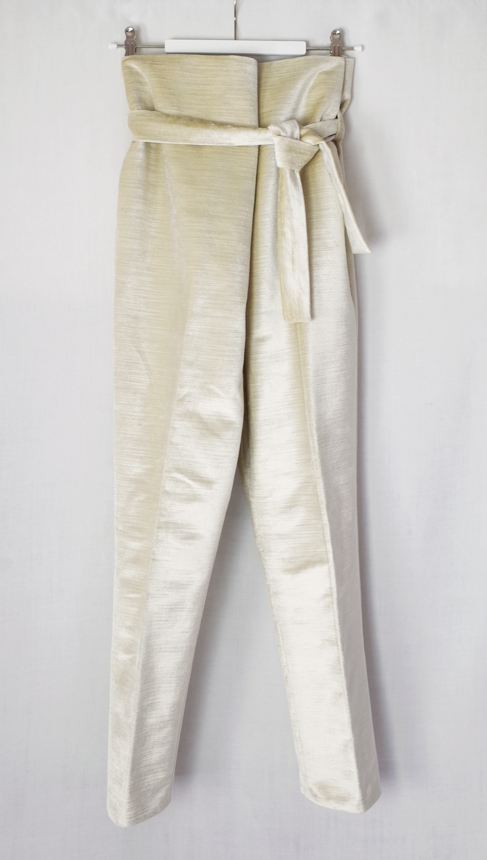 color:light beige  material: 100% cotton velour