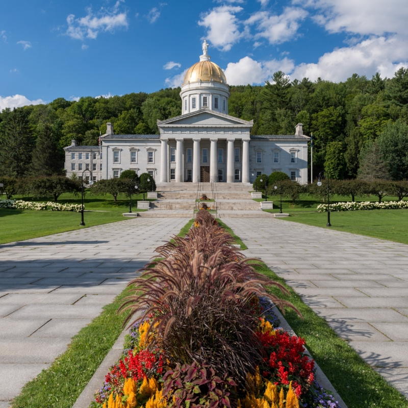 Counting on (and in) Vermont -
