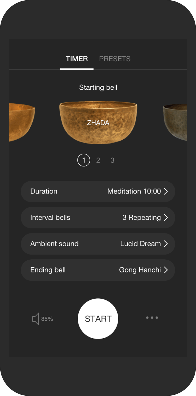 This Meditation Timer is the best! - Home to more than 2,500,000 meditators, Insight Timer is ratedas the top free meditation app on the Android and iOS stores.Set your time, choose your bells, log your time and sit. Gina is a teacher on the site so look for meditations from her too.https://insighttimer.com/