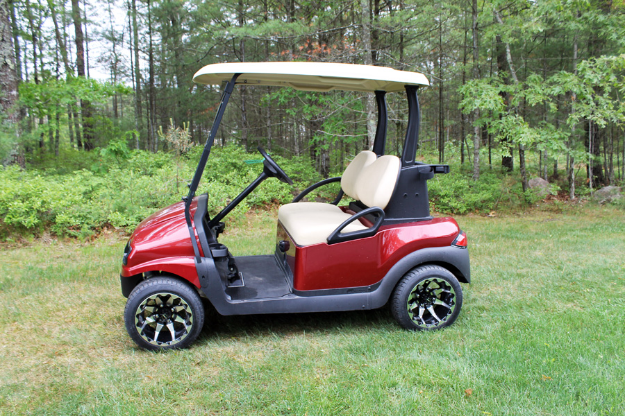 Used Electric Vehicles Old — CCE Golf Cars