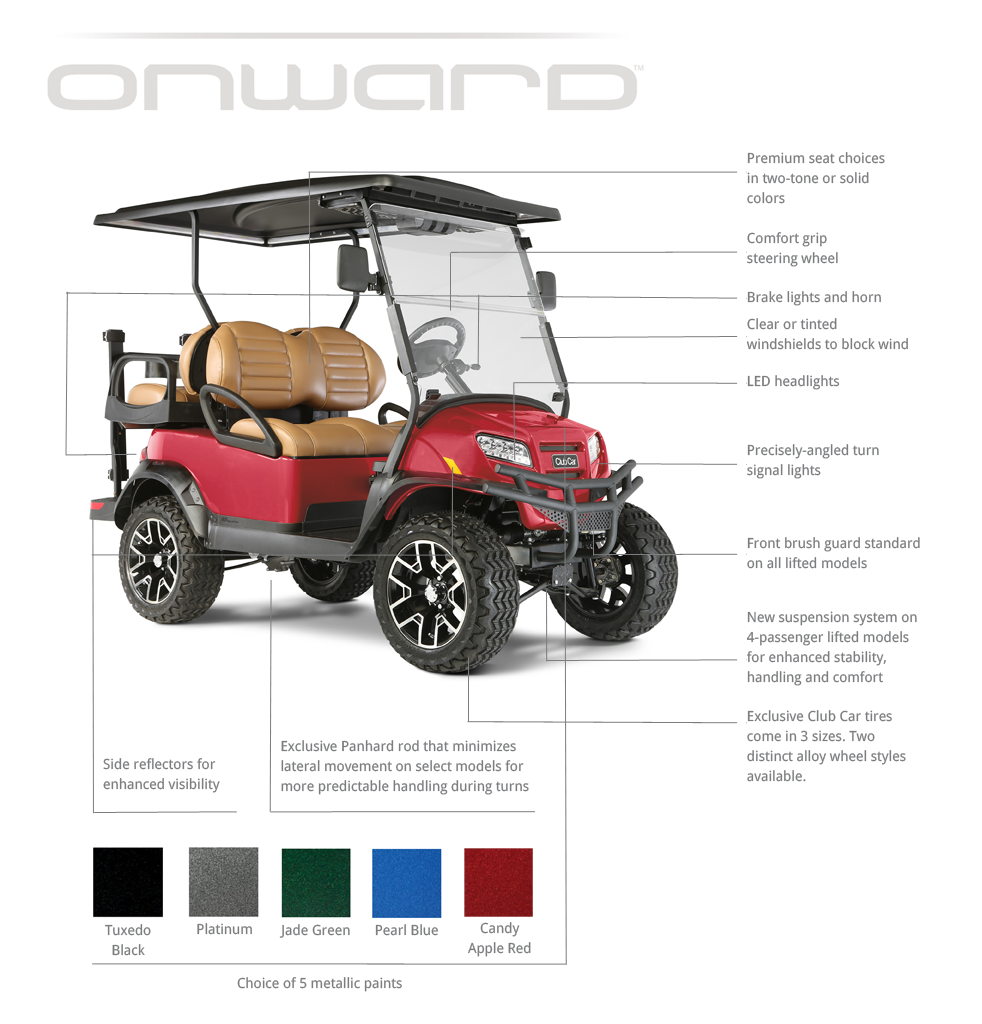 The New Onward Cart Cce Golf Cars