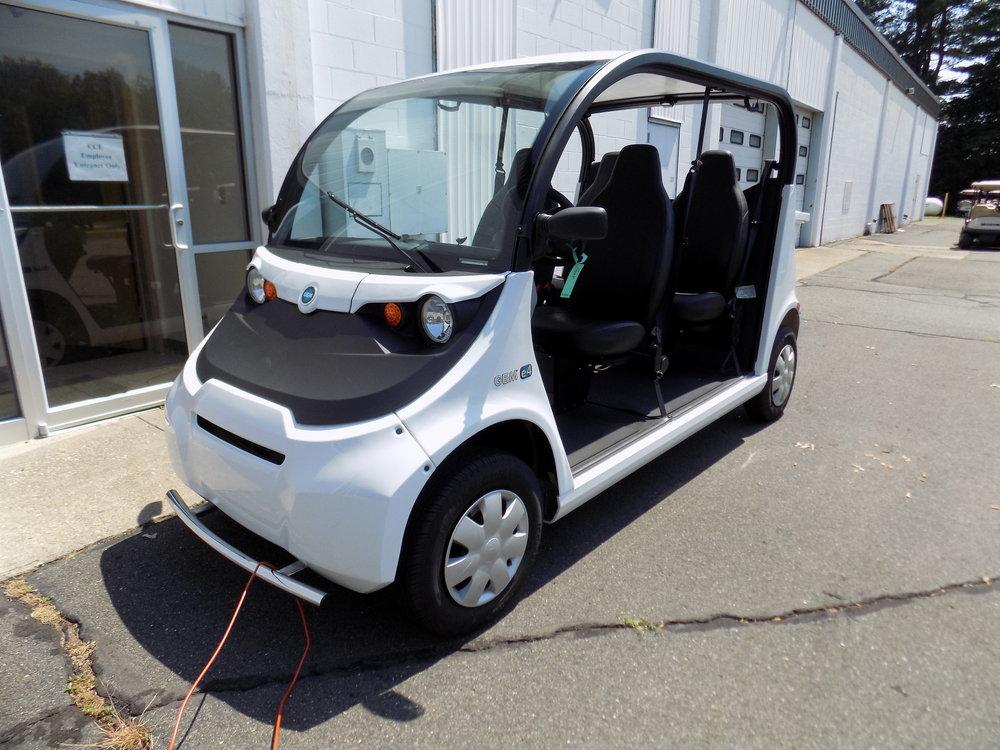 new 2016 street legal gem e4 with rear box cce golf cars rh ccegolfcars com 2012 Gem Electric Car Gem Coupe