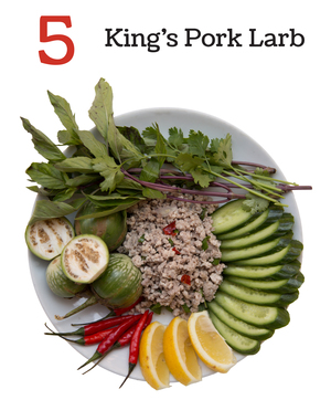 King's Pork Larb