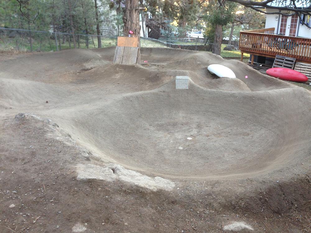 Back yard track