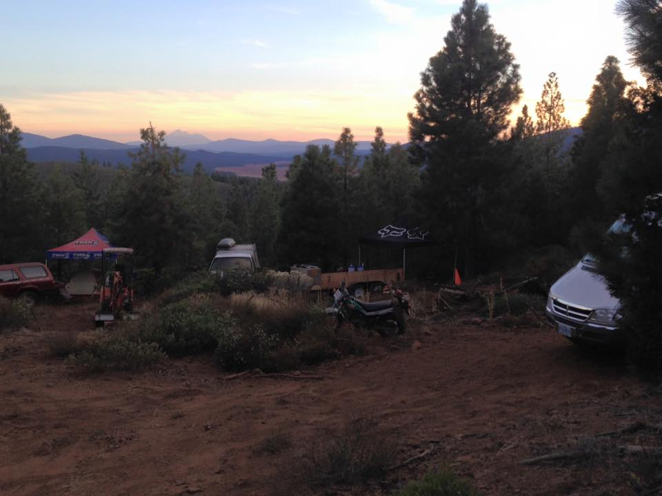 Base Camp, Spence Mountain Klamath Falls