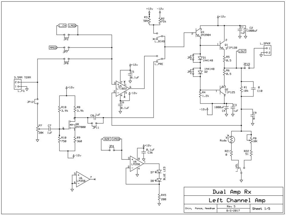 Audio Schematic