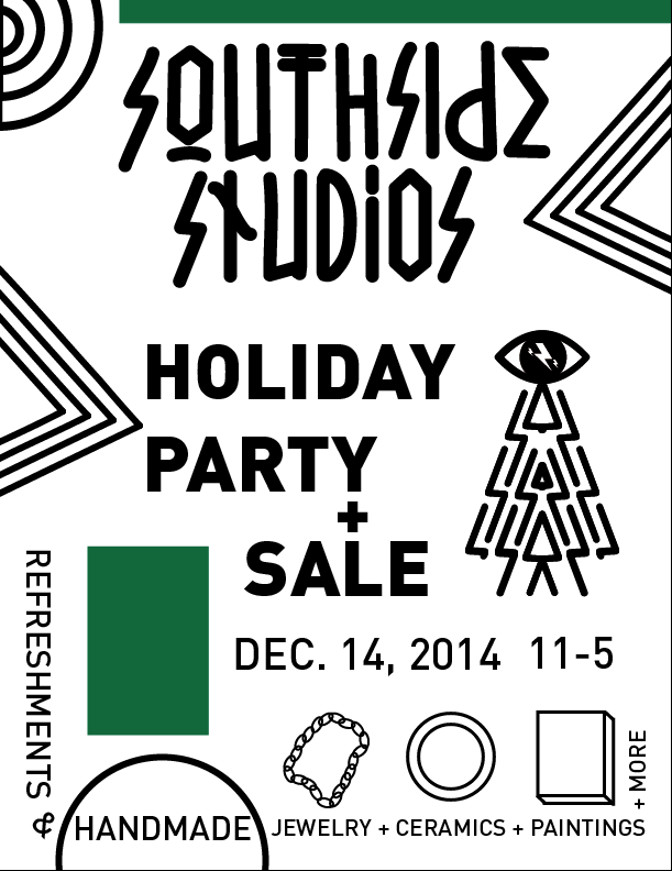 1. Design for studio holiday party