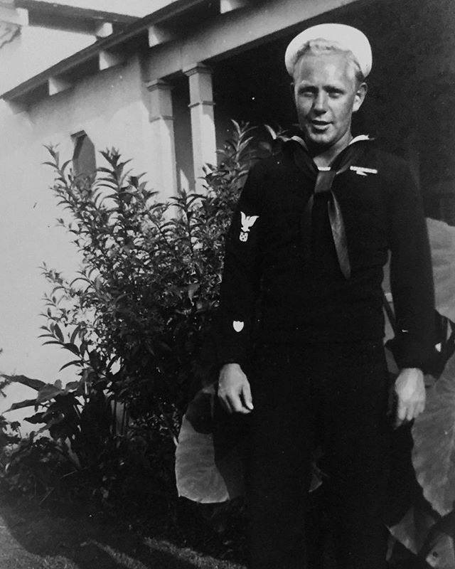 drank coffee and watched the ocean with my dad this morning, as he started the first father's day without his. the day after my grandad's funeral. he's pictured here, pre-ww2 where he had a pet monkey. it was a weird weekend, a really weird one. but it ended with a greeting by happy dogs, and even happier horses, upon my return home. and that made being the dead end of my family name, who just wants to parent animals, seem like maybe the best way to carry on this man's legacy.