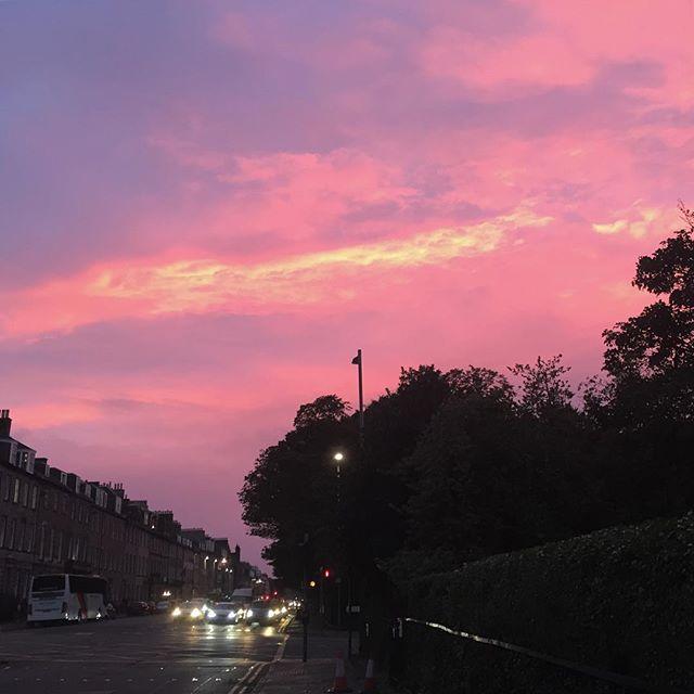 This sky inspired an impromptu evening walk.