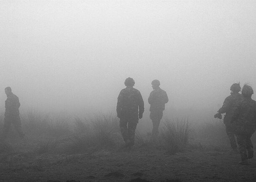 Into the Mist (Territorial Army III)