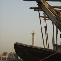 Dhow and Minaret iii