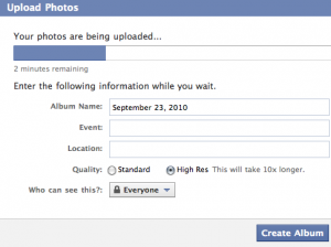 Facebook's high-res option