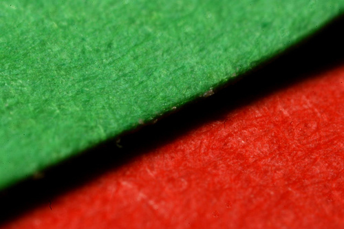 Coloured Paper (Macro)