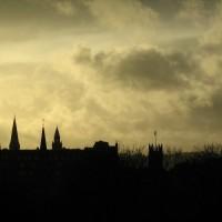 Shilouette skyline