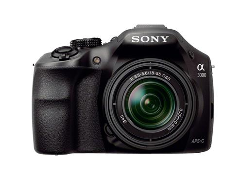 Sony A3000 with 18-55mm kit lens