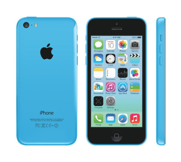iPhone 5c in blue