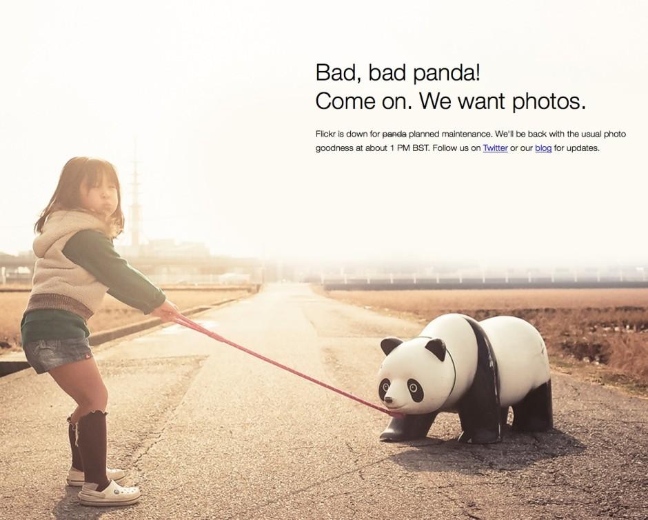Bad panda.