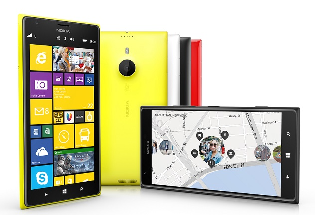That's the 20 megapixel Lumia 1520
