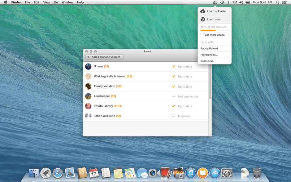 Loom desktop