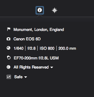 Can I have my full location and rich EXIF data back please?
